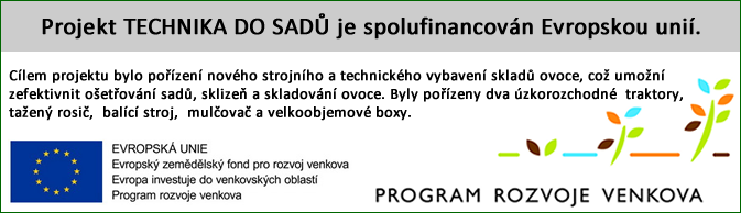 Projekt technika do sadů